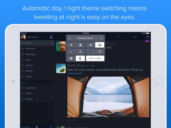 Twitterrific 5 for Twitter Screenshots