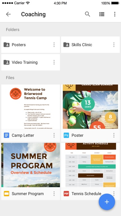 Screenshot for Google Drive – bộ nhớ tệp in Viet Nam App Store