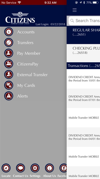 Citizens FCU Mobile App