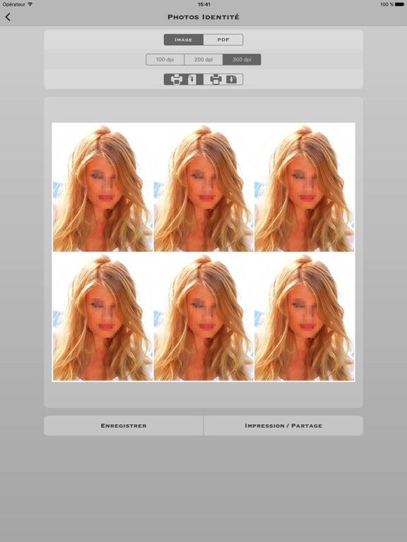 Screenshot #5 pour Photos d'identité Pro