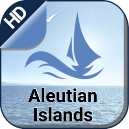 Aleutian Islands offline nautical boating charts