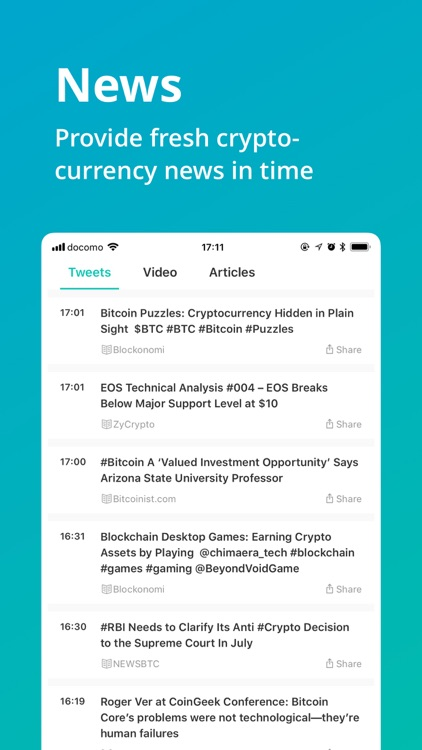 CoinView: Bitcoin Altcoin App screenshot-4