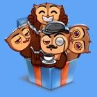 Owl STiK Sticker Pack icon