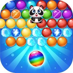 Bubble pop cat rescue match 3 puzzle