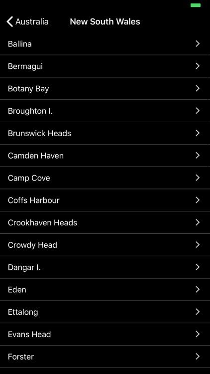 AU Tides Pro -Tide Predictions screenshot-3