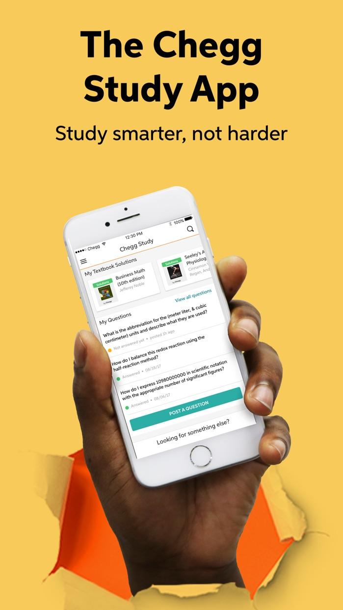 Chegg Study Screenshot