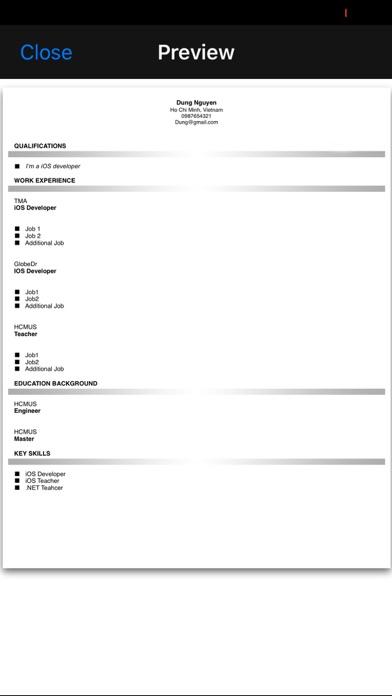 点击获取Resume Studio