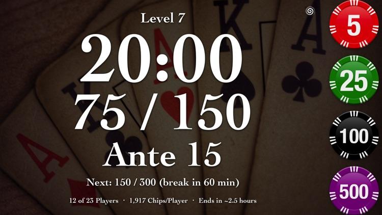 Texas Holdem Poker Timer