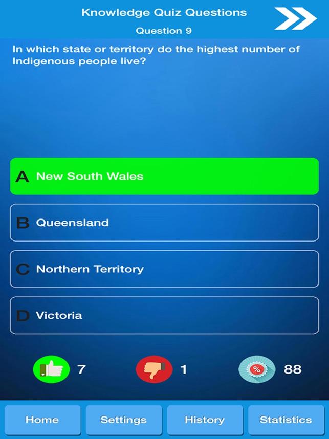 Australia Knowledge Quiz