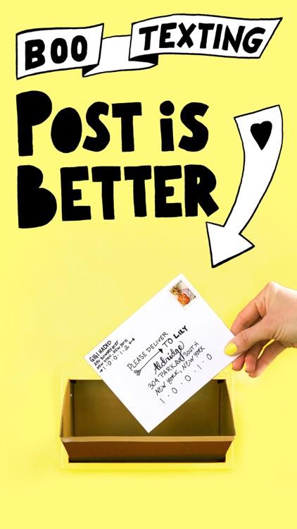 Punkpost - Handwritten Cards screenshot-4