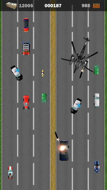 Bank Robbery - Road Rush Warriors