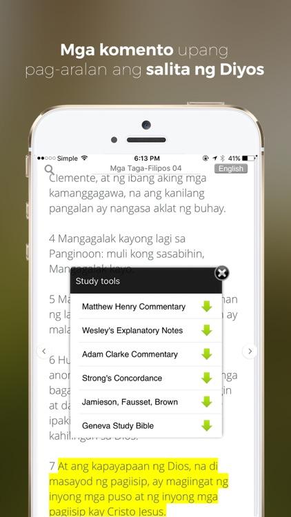 Get Tagalog Bible screenshot-3