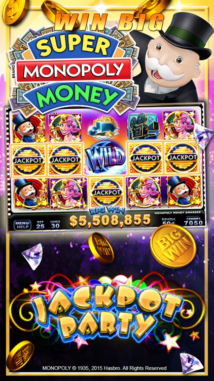 Slots! Jackpot Party Casino screenshot-2