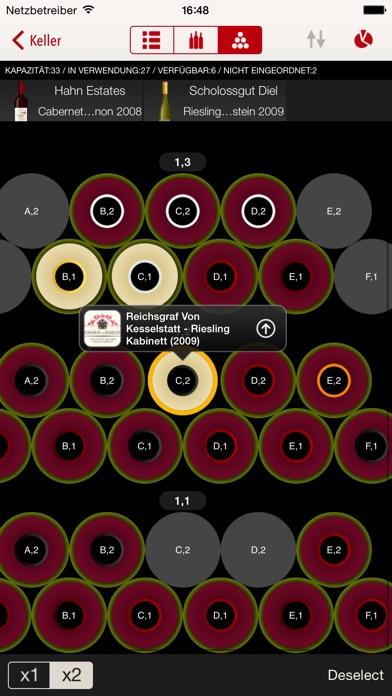 Screenshot for VinoCell - weinkeller und wein in Germany App Store