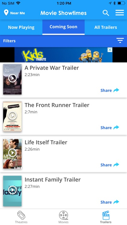 Tribute: Movie Showtimes screenshot-4