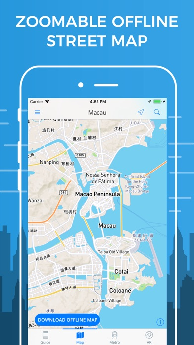Macau City Travel Guide | App Price Drops on print maps, advertising maps, service maps, facebook maps, online interactive maps,