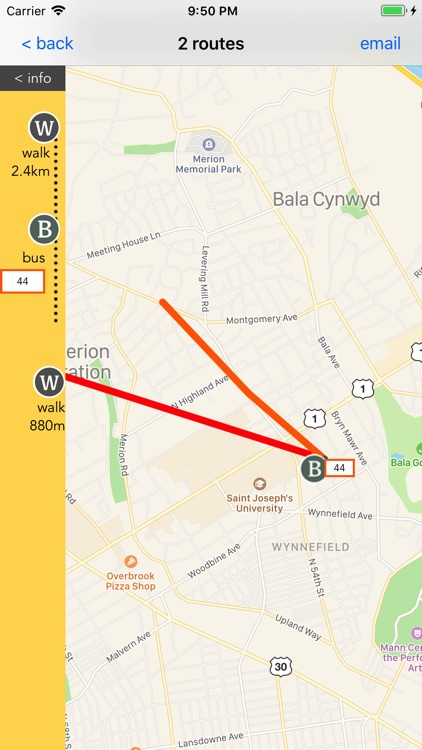 Philadelphia Public Transport screenshot-4