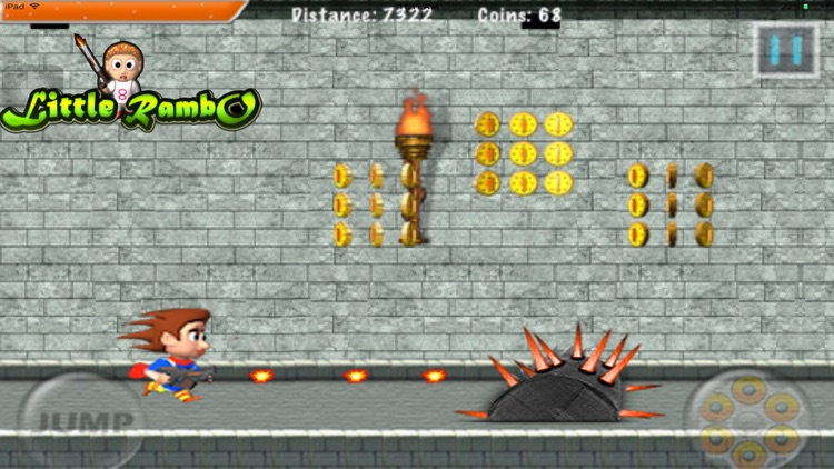 Little Rambo Shooting & Racing screenshot-3
