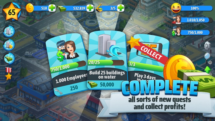 City Island 5 Tycoon Sim Game screenshot-5