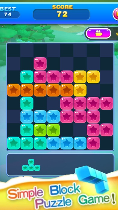 Block Star Puzzle screenshot two
