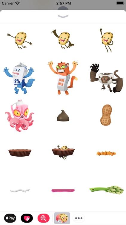 JJ Cookie Stickers