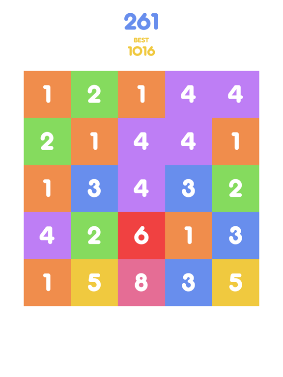 Number Tap - Merge Blocks screenshot 6
