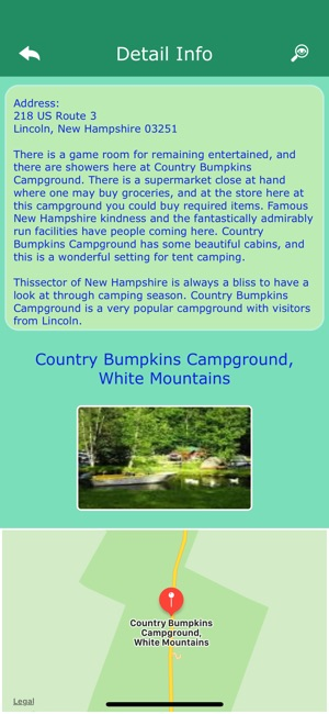 ‎New Hampshire Camping Guide