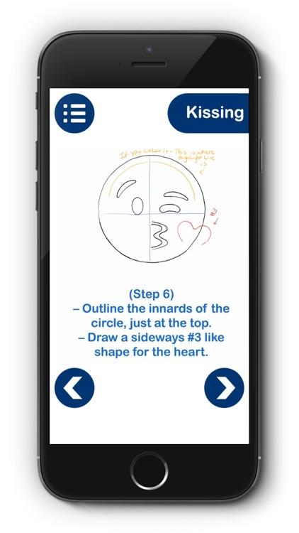 Draw Emojis Step By Step