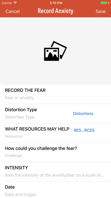 Anxiety Journal screenshot-1