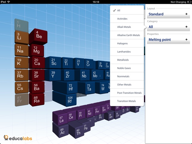Periodic table educalabs on the app store urtaz