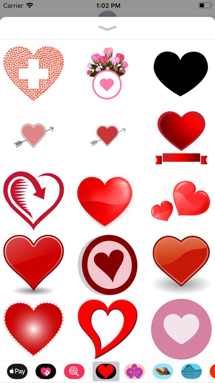 Only Heart Stickers screenshot-2