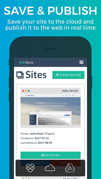 UXWeb™ Website Builder screenshot-3