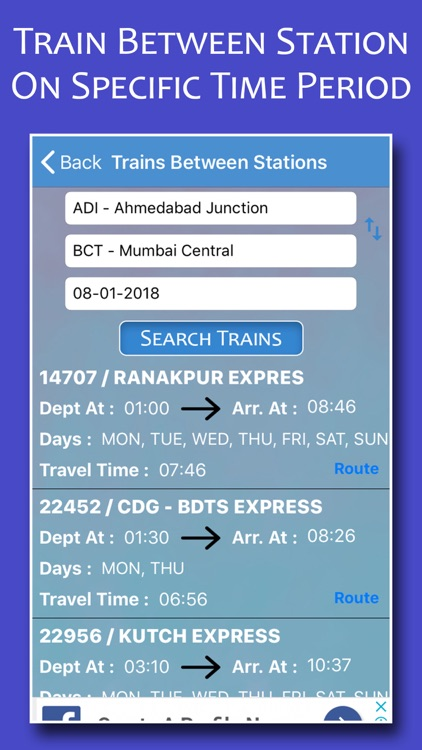 Indian Rail Info & PNR Status by Jaydeep Dhameliya