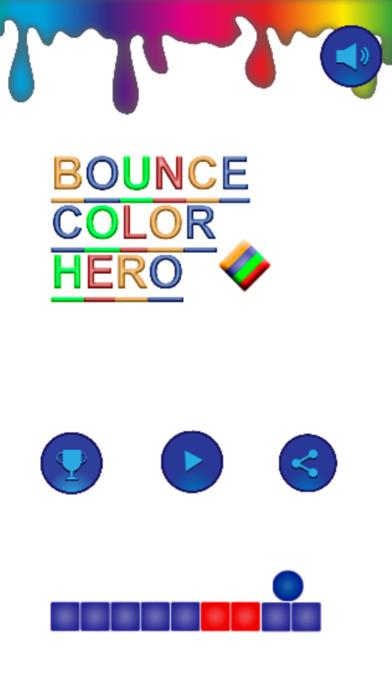 Bounce Color Hero screenshot one