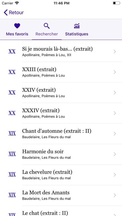 Un Poème Un Jour screenshot-5