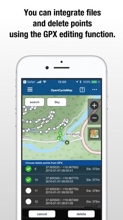 SkyWalking - The GPS Logger screenshot-3