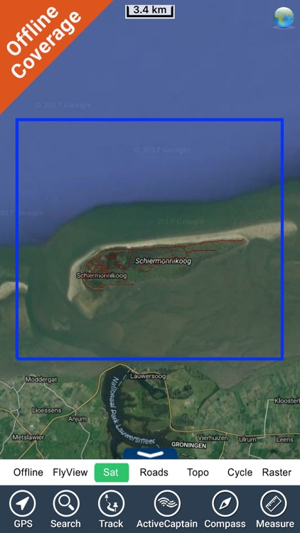 Schiermonnikoog NP GPS and outdoor map with guide screenshot-4