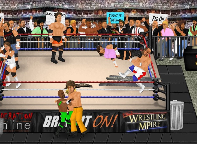Wrestling Revolution HD