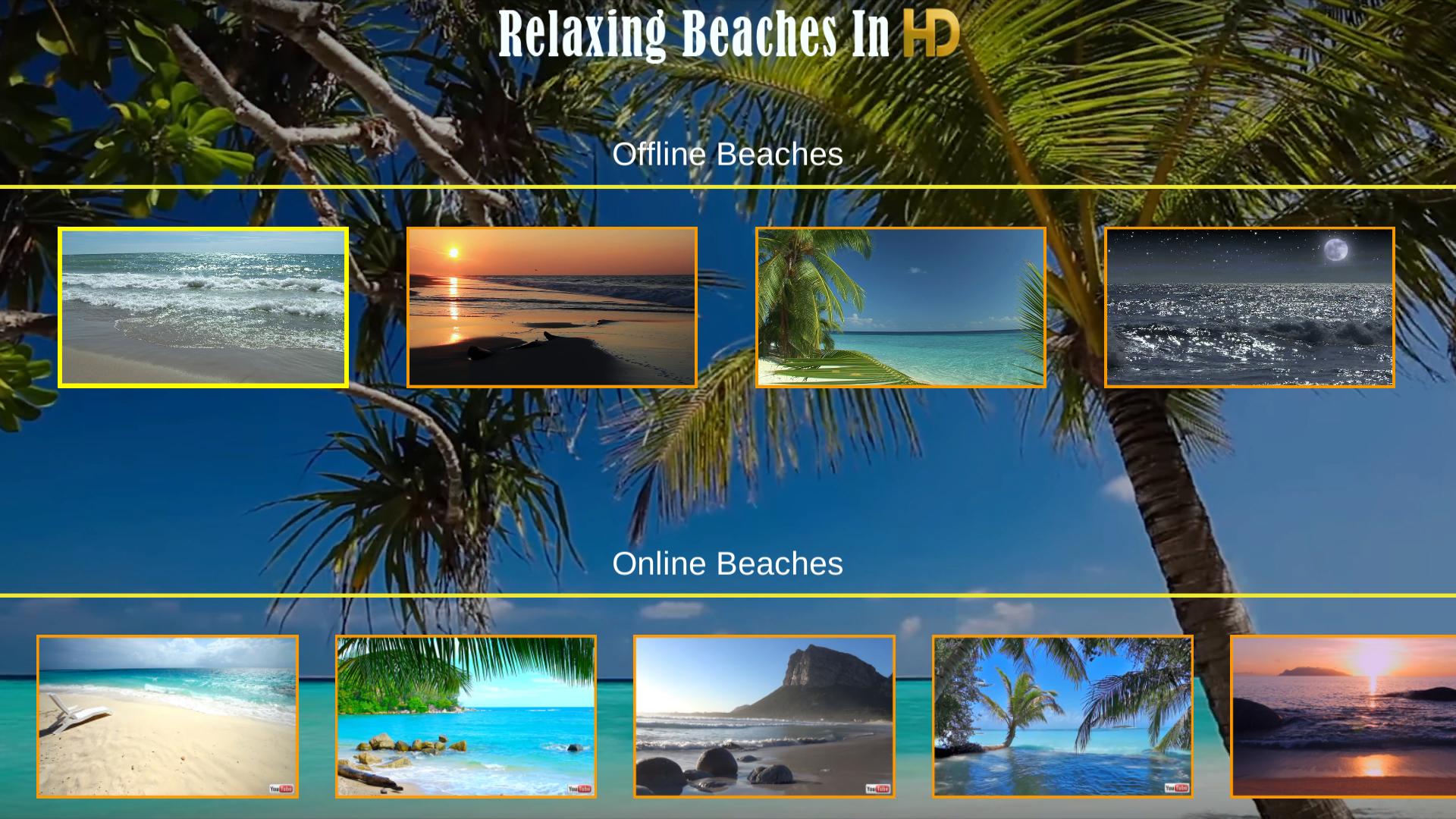 Relaxing Beaches In HD screenshot 7