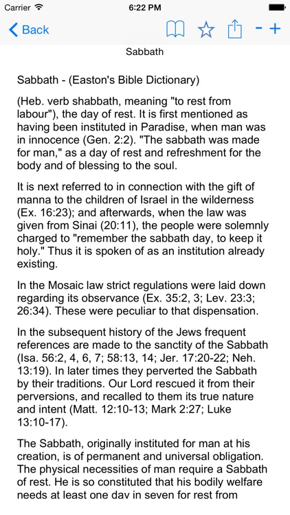 Bible Dictionary and Glossary