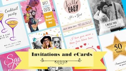 Invitation Maker Flyer Creator Screenshot