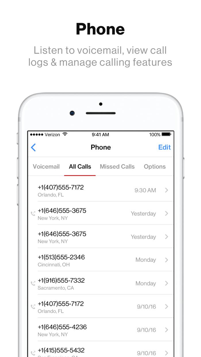 Verizon My Fios Screenshot