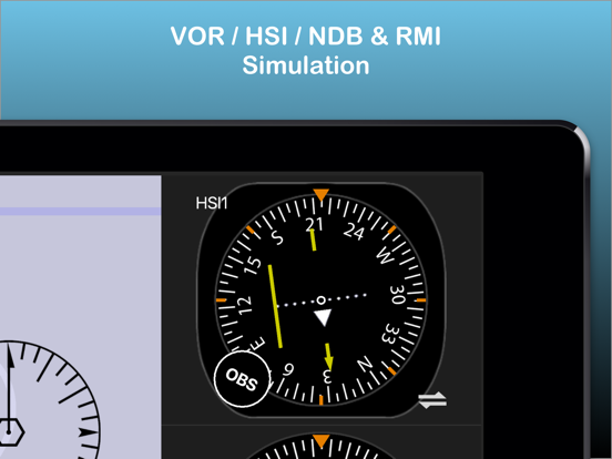 Nav Trainer - instrument navigation for pilots screenshot