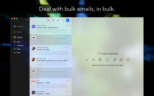 ‎Canary Mail