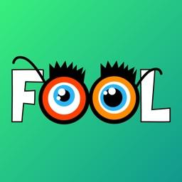April Fool Prank Stickers App