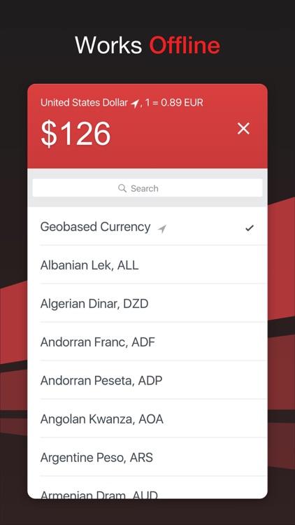 GlobeConvert - Currency & Units Converter Offline
