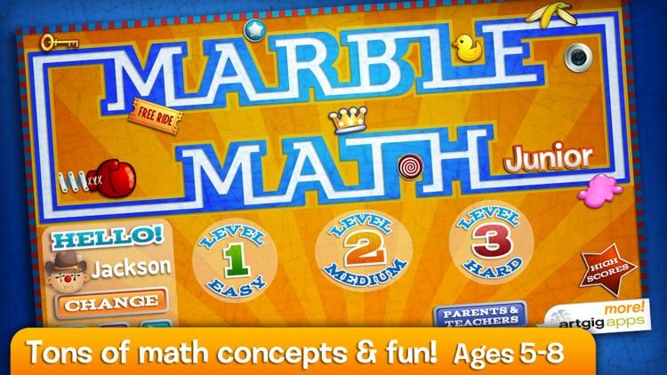 Marble Math Junior screenshot-0