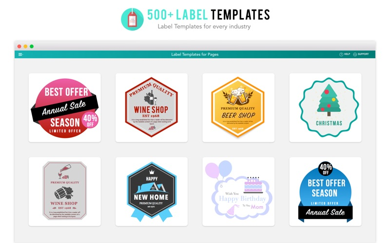Label Templates For Pages App Price Drops
