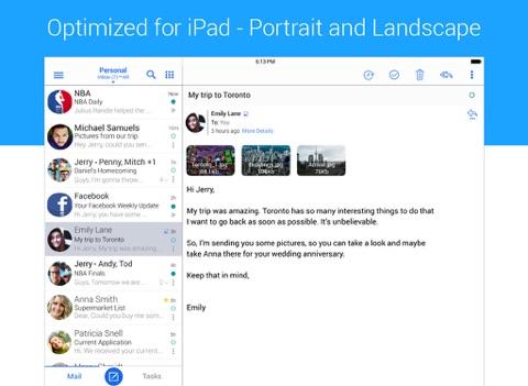Screenshot #4 pour TypeApp- Mail, IMAP & Exchange