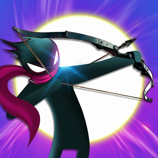 The Stickman Archers - shooting games iOS App